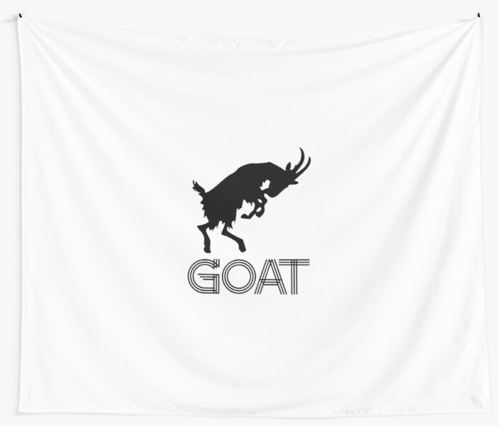Goat | Greatest of all time goat buck | gift by TW-Designs
