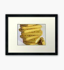 Biscuits Framed Print