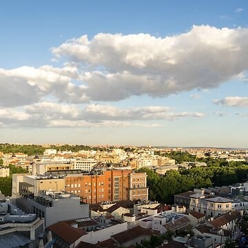 Madrid Cityscape from Above - Fine Summer Afternoon by GeorgiaM