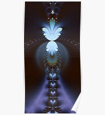 The Fractal Stairway to Paradise Poster