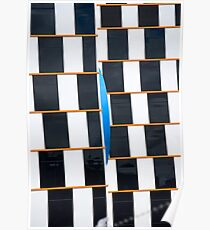 Black and White - Melbourne - Australia Poster