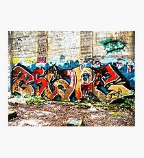 Graffiti Street Art #2 Photographic Print