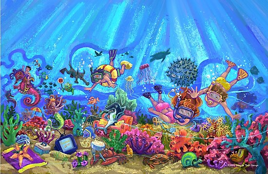 Under the Sea by ImagineThatNYC