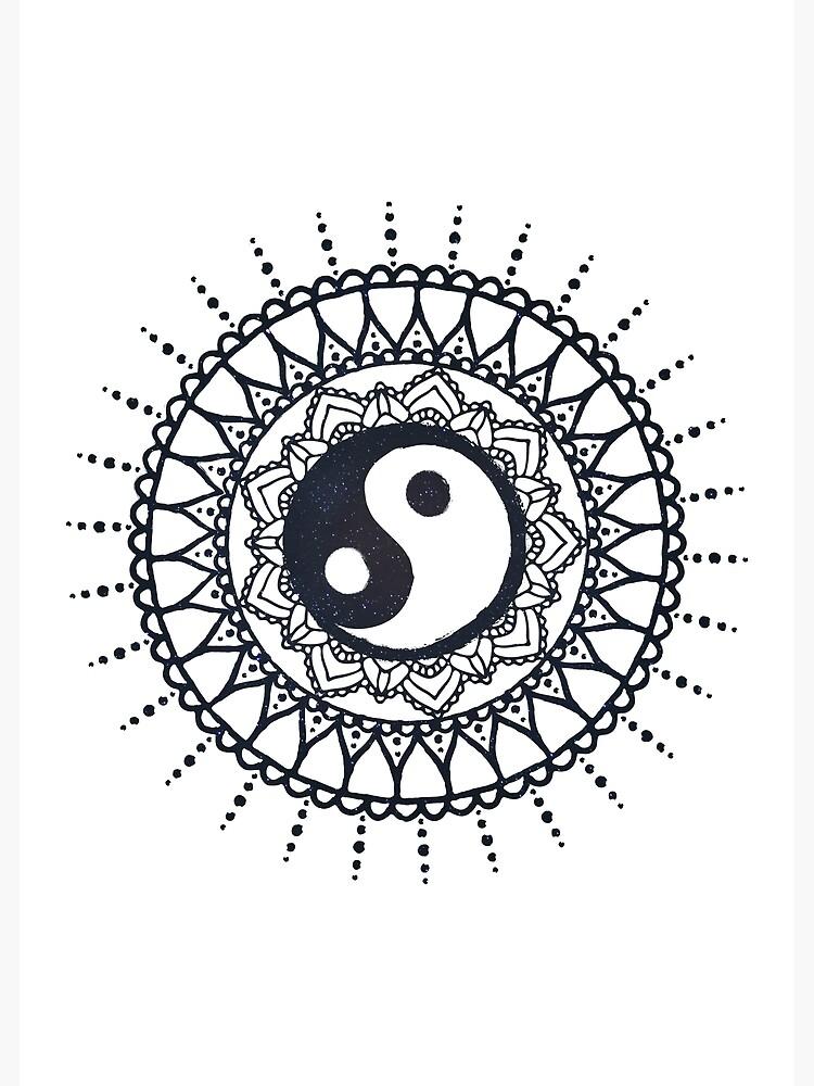 malvorlagen yin yang  indone