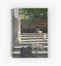 Back Off! Spiral Notebook