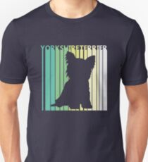 Cute Yorkshire Terrier Silhouette Unisex T-Shirt