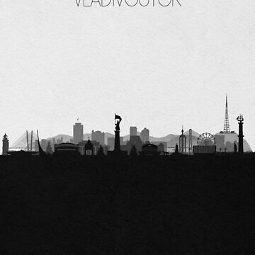 Travel Posters | Destination: Vladivostok by geekmywall