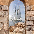 sail boat by nicolagiordano