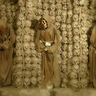 Capuchin Crypt - Rome, Italy by Bob  Perkoski