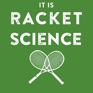 Funny Tennis Quote for a Coach, Player, Pro  - Humor Gifts by sparkpress