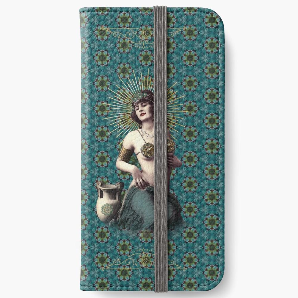 Étui portefeuille iPhone «Marie-Louise»