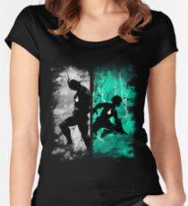 Einer für alle Tailliertes Rundhals-Shirt