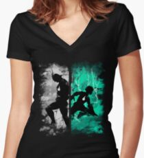 One For All Women's Fitted V-Neck T-Shirt