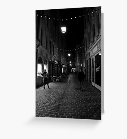 Street light Greeting Card