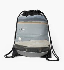 Rescue is at hand Drawstring Bag