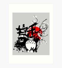 Japan Spirits Art Print