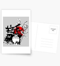 Japan Spirits Postcards