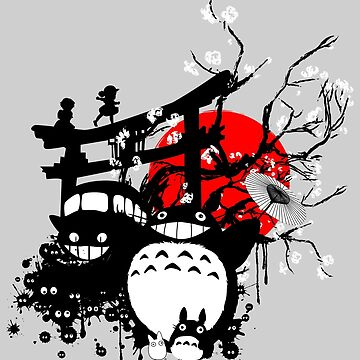 Japan Spirits by THEILO