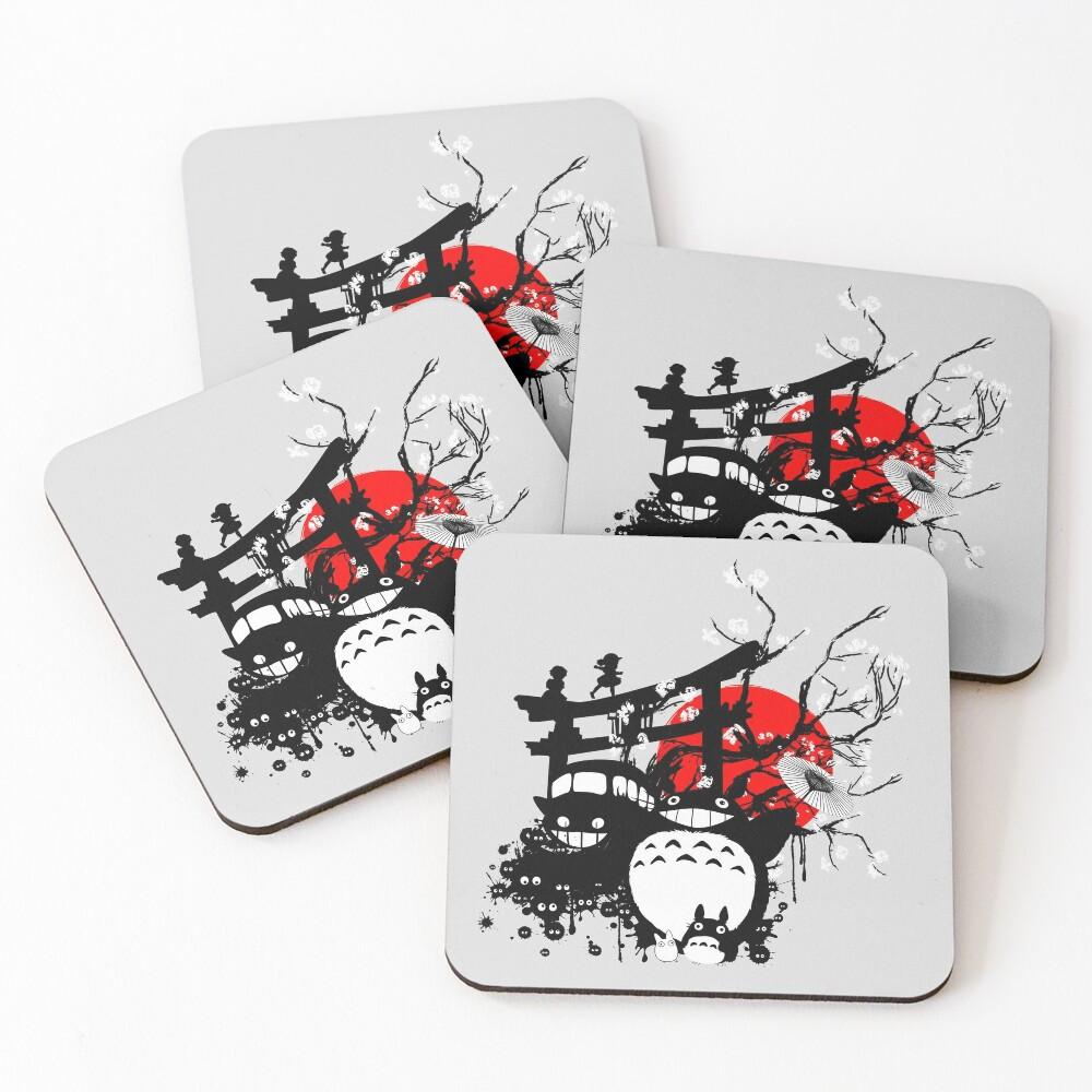 Japan Spirits Coasters (Set of 4)