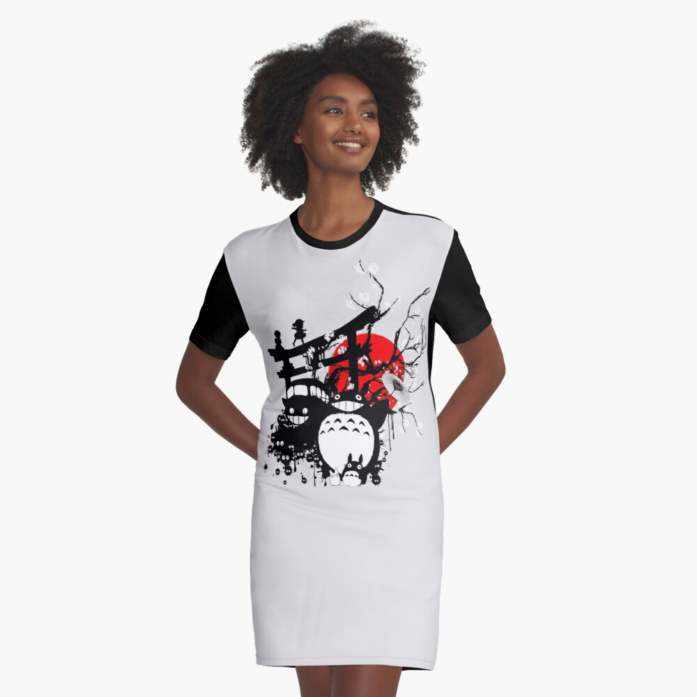 Japan Spirituosen T-Shirt Kleid