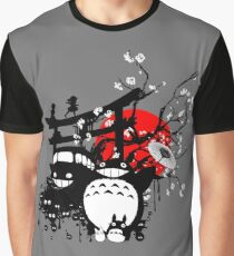 Japan Spirits Graphic T-Shirt