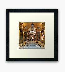 Galleria San Federico Framed Print