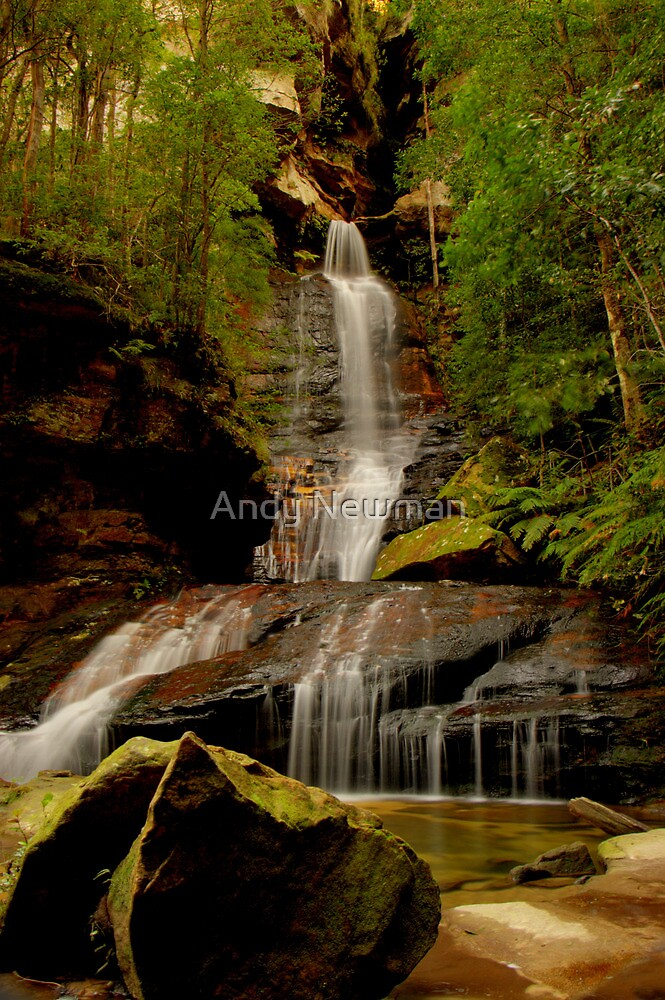 Empress Falls, NSW. by Andy Newman