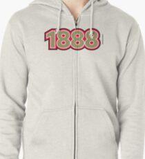 1888 Zipped Hoodie