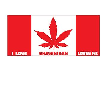 I love Shawinigan, and Shawinigan  loves me by handcraftline