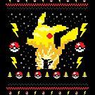Electric Monster Ugly Sweater by Dan Elijah Fajardo