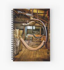 """""""Day's End on the Board"""" Spiral Notebook"""
