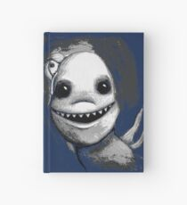 Meeting New People for Nessie and Mermaid (Grayscale Version)  Hardcover Journal