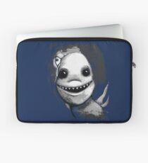 Meeting New People for Nessie and Mermaid (Grayscale Version)  Laptop Sleeve