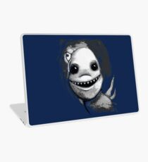 Meeting New People for Nessie and Mermaid (Grayscale Version)  Laptop Skin