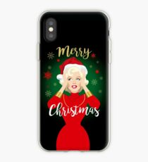 Blonde Christmas iPhone Case
