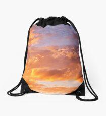 The Golden Sky Drawstring Bag