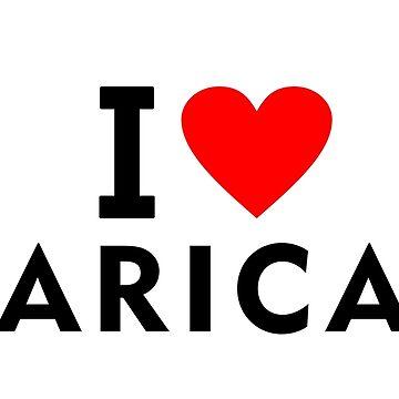 I love Arica city by tony4urban