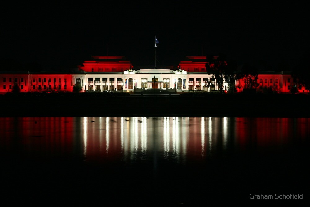 Old Parliament House by Graham Schofield