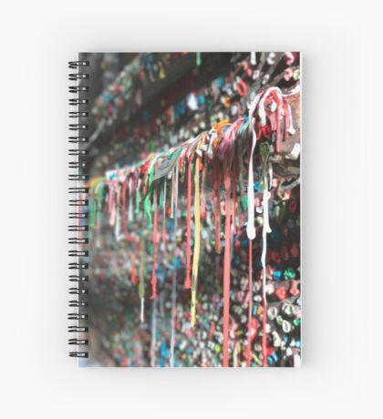 Gum Wall (Seattle, USA) Spiral Notebook