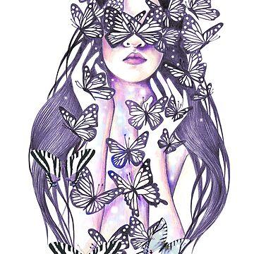 Lady Butterfly by andreahrnjak
