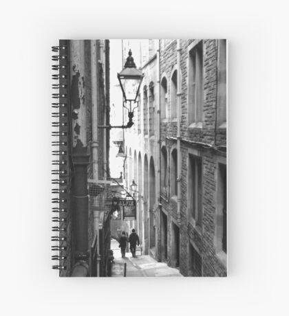 Fleshmarket Close (Edinburgh, UK) Spiral Notebook