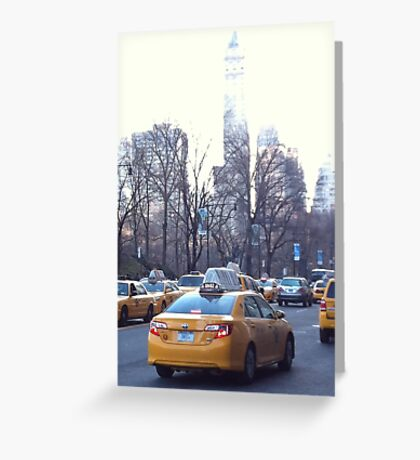 Taxi! (New York, USA) Greeting Card