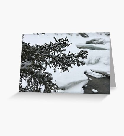 The River Beneath (Banff, Canada) Greeting Card