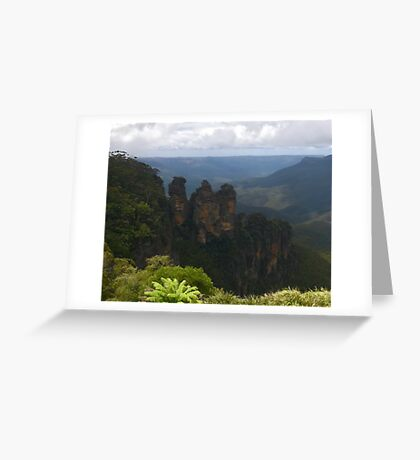 Sisters are doing it for themselves (Katoomba, NSW) Greeting Card