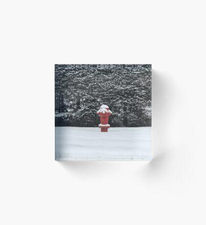 Fire and Ice (Banff, Canada) Acrylic Block