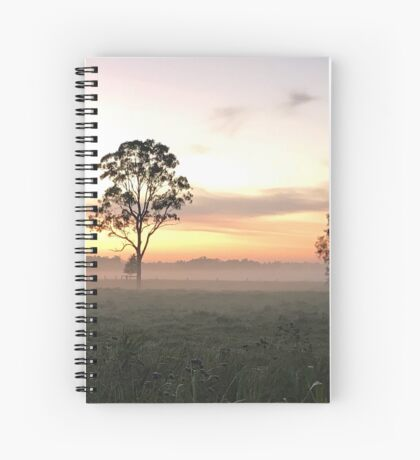 Crack of Dawn (Narooma, NSW) Spiral Notebook