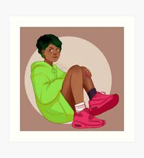 Alex Fierro Art Print