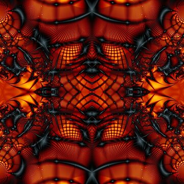 Fractal Art - Devil I by Desmo