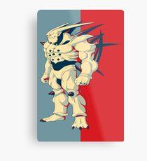Omega Shenron Metal Print