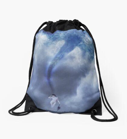 Crafting Thought Drawstring Bag